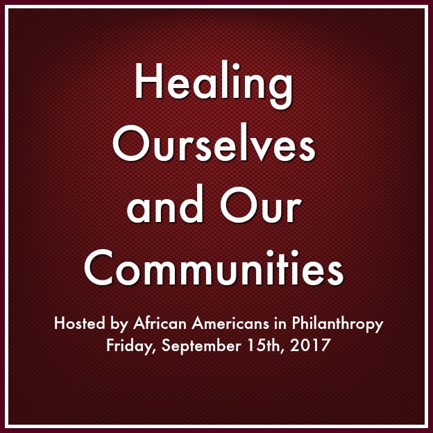 Healing Ourselves and Our Communities